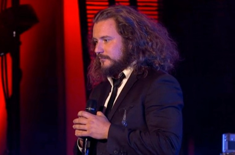 jim james on jimmy kimmel live