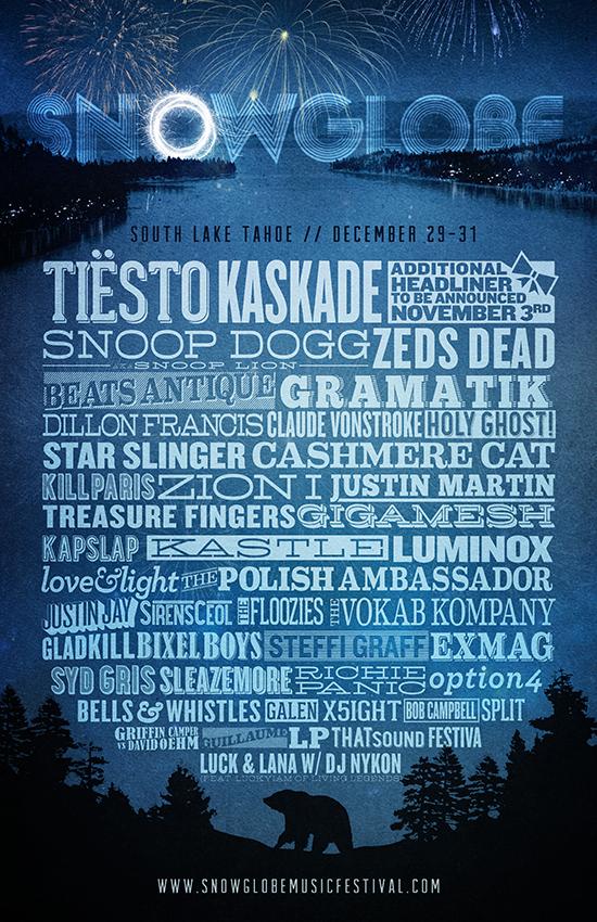 snowglobe 2013 poster
