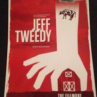 jeff tweedy fillmore poster