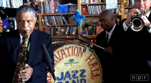 preservation hall jazz band tiny desk concert