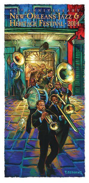 jazz fest 2014 poster