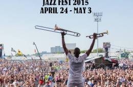 See you there! (© Jazz Fest on Facebook)