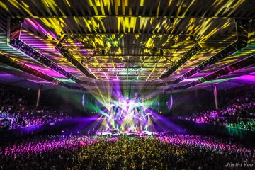 Phish @ Bill Graham Civic Auditorium 10.27.14 © Justin Yee