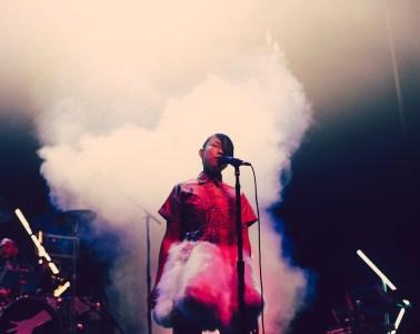 Little Dragon @ Fox Theater Oakland 10.24.14