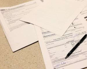 Collingwood Real Estate Paperwork