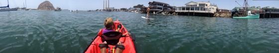 Morro Bay Harbor Panorama - Kayak Rentals