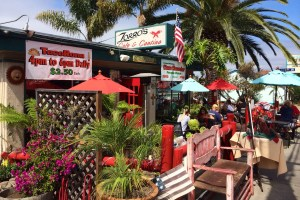 The Beautiful Front Patio at Zorro's Cafe & Catina