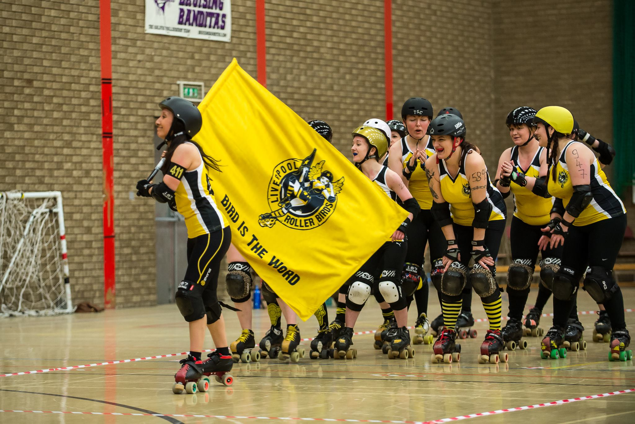 Liverpool roller birds sisters of mersey photo courtesy of taut clothing