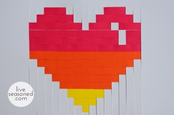 Woven Heart Valentines