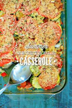 Small Of Vegetable Casserole Recipes