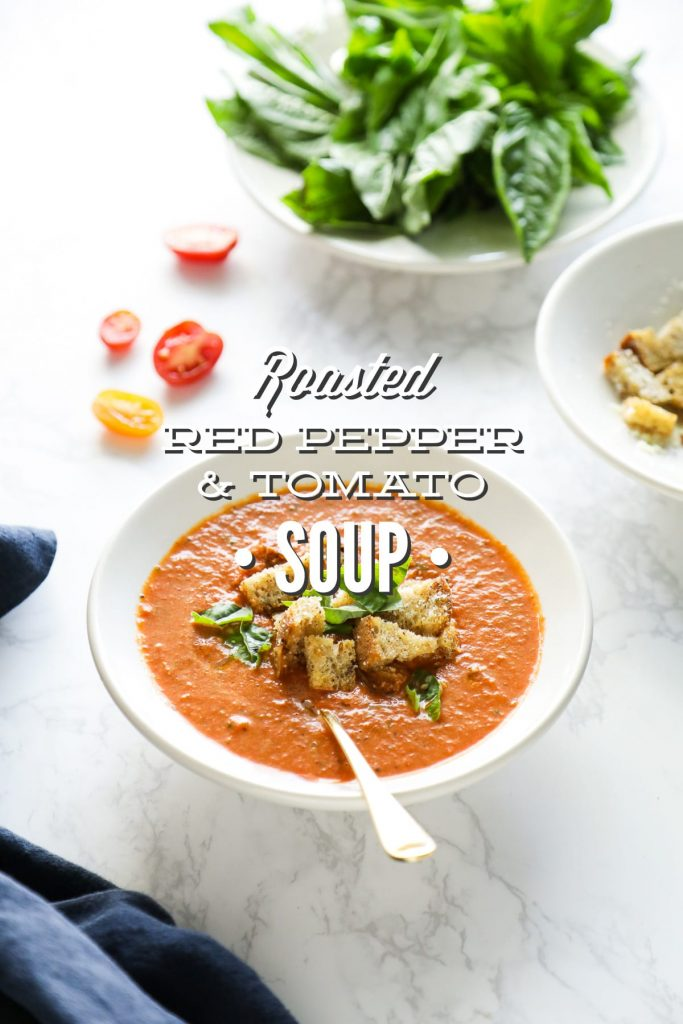Roasted Red Pepper and Fresh Tomato Soup - Live Simply
