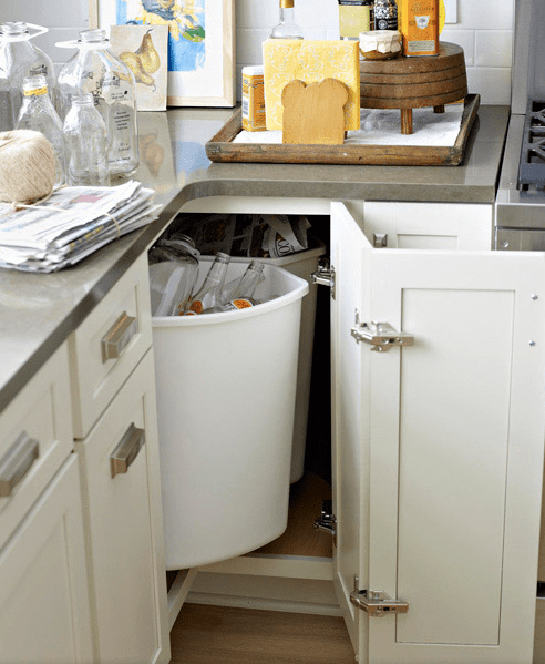 Kitchen Base Cabinet Alternatives How To Deal With The Blind Corner Kitchen Cabinet | Live