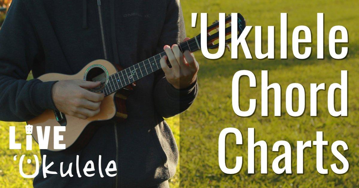 Ukulele Chords Charts w/Diagrams  Pictures \u2013 Live Ukulele