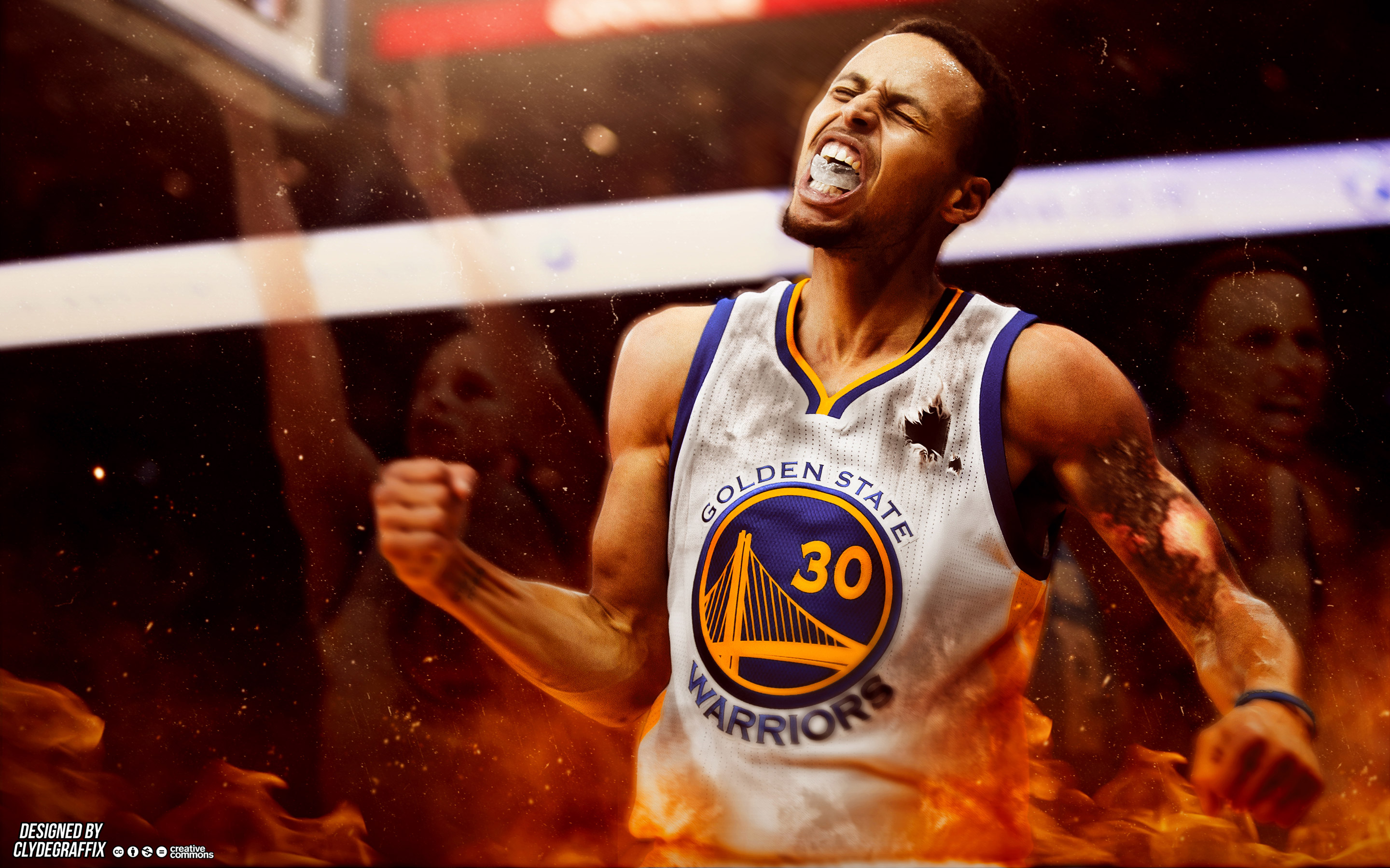 Golden State Warriors Wallpaper Hd Stephen Curry Background 2018 Wallpapers Hd