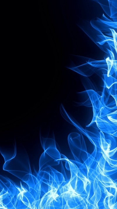 Blue Fire Iphone X Wallpaper | 2019 Live Wallpaper HD