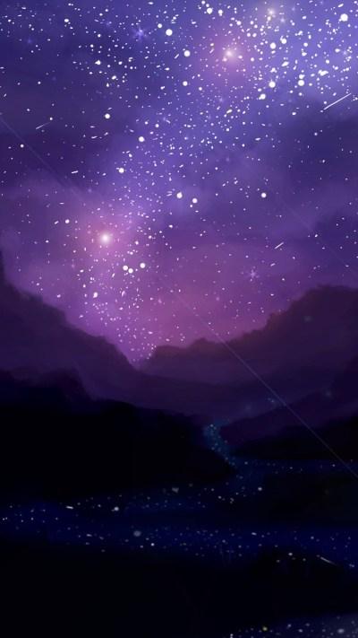 Night Iphone Stars Wallpaper   2019 Live Wallpaper HD