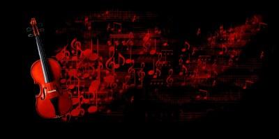 Full size Violin Music Red Wallpaper 2018 - Live Wallpaper HD