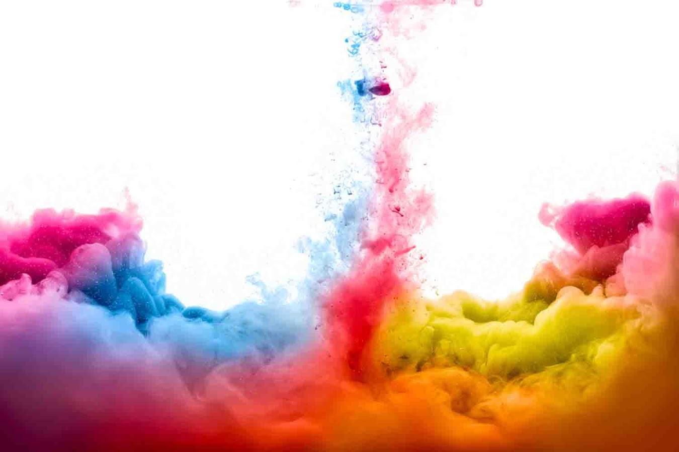 Colorful Paint Liquid Wallpaper