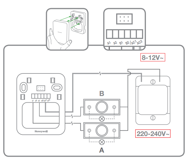 wiring diagram for doorbell with 2 chimes wiring