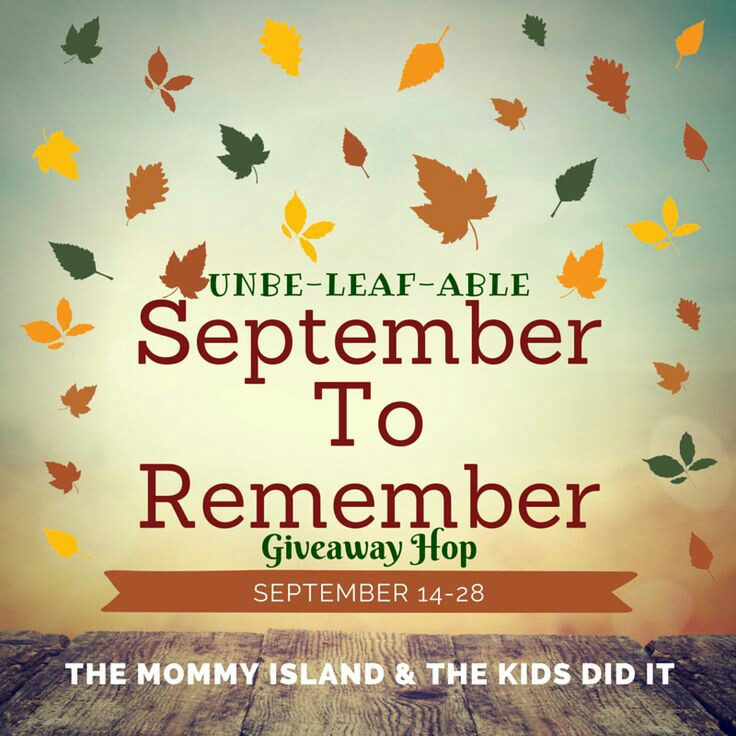 Welcome to the September to Remember Giveaway Hop