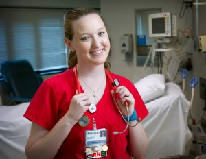 Alison is now an RN at Memorial Medical Center