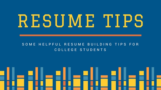 5 Tips for Building a Quality Student Resume MSC UVa - 5 resume tips