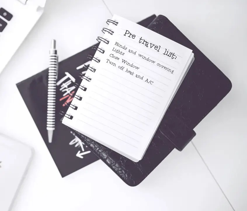 A Pre-Travel Checklist - Some Things To Do Before Traveling