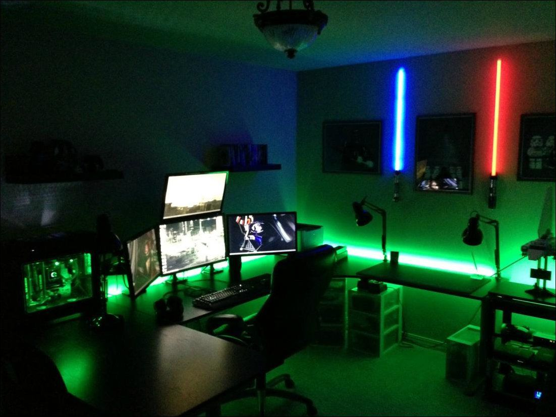 Gaming Tisch Ps4 22 Amazing Gaming Room Set Ups