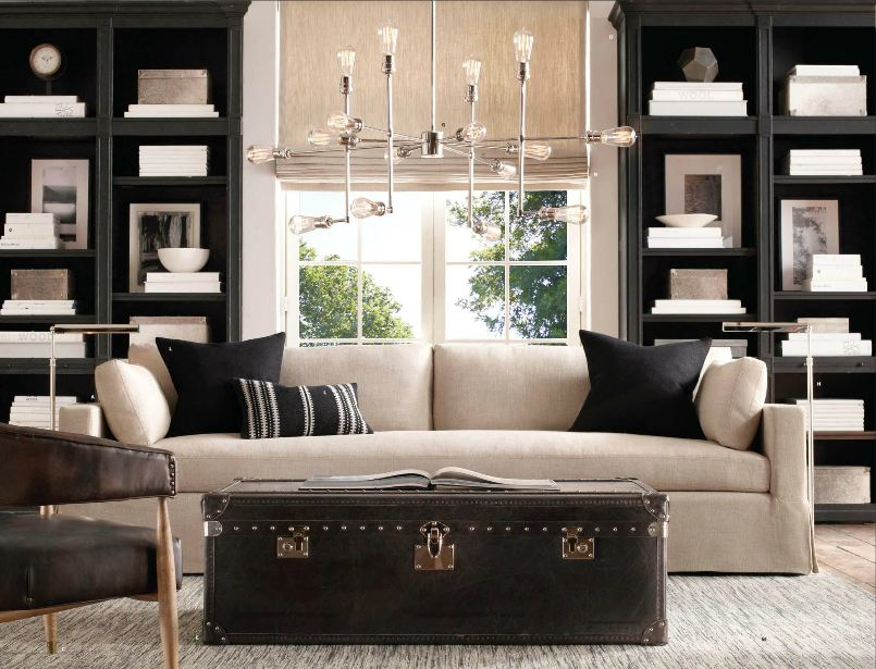 furnitures-living-room-excellent-black-living-room-book-case-with - living room chest