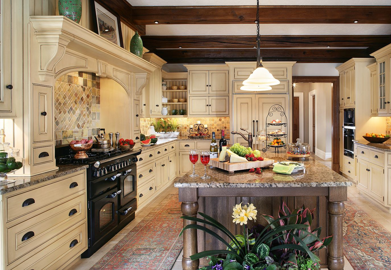 Styles Of Kitchen The Enduring Style Of The Traditional Kitchen