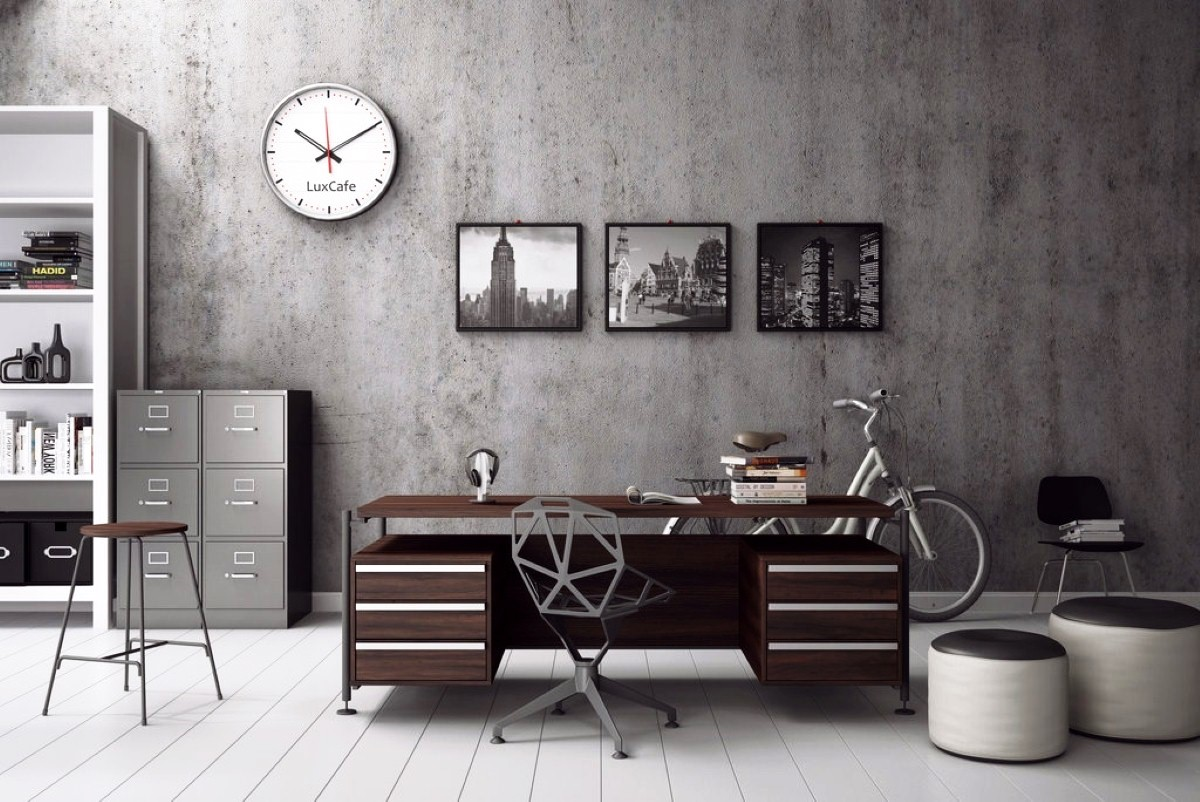 Stylish Office Designing A Masculine Home Office