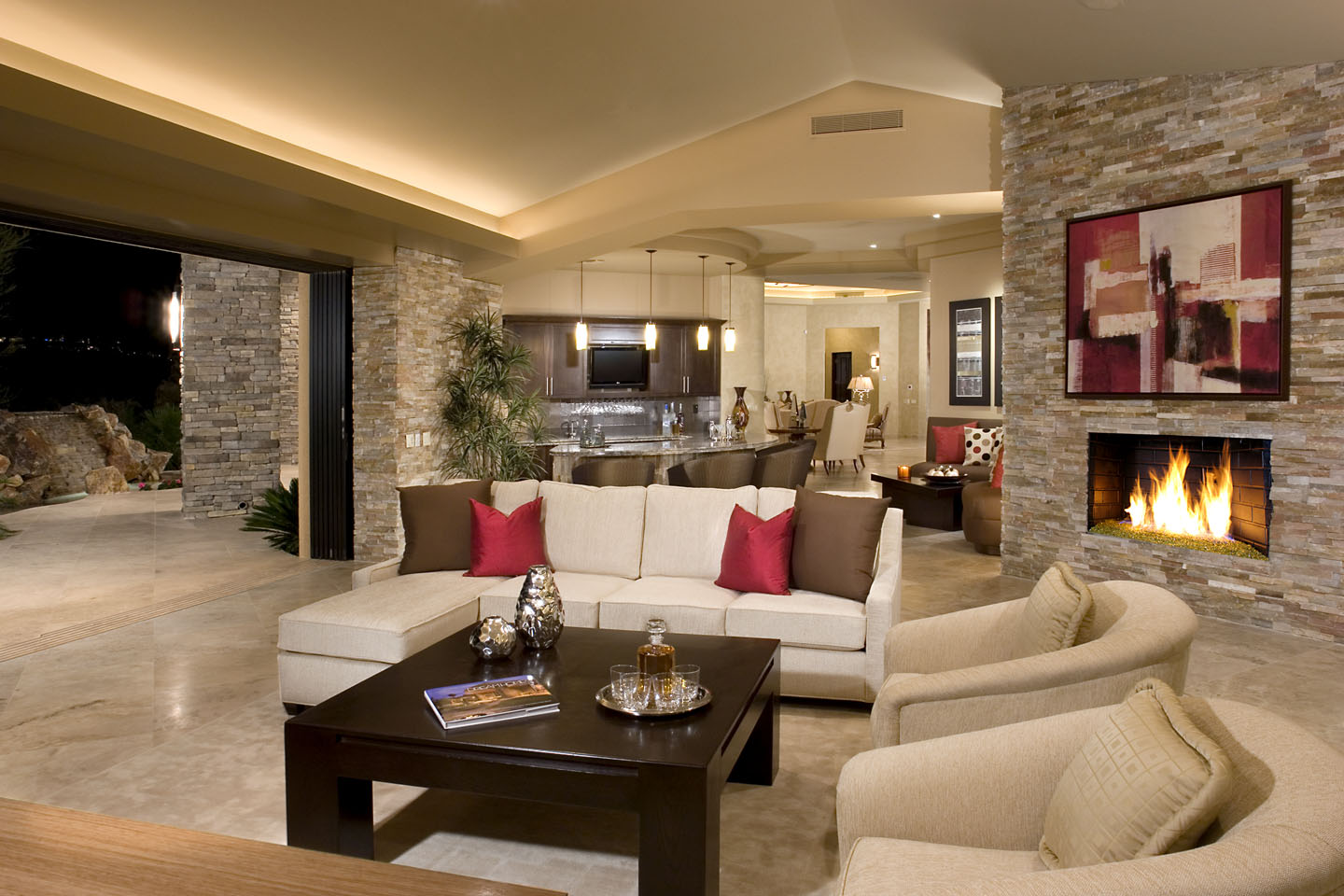 Pics Of Houses Inside Rock Your Home With Stone Interior Accents