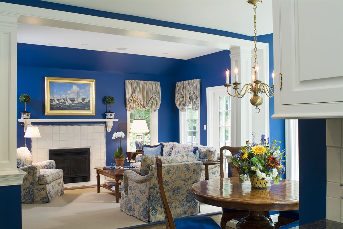 Rbdr27 Ideas Here Royal Blue Dining Room Collection 5839
