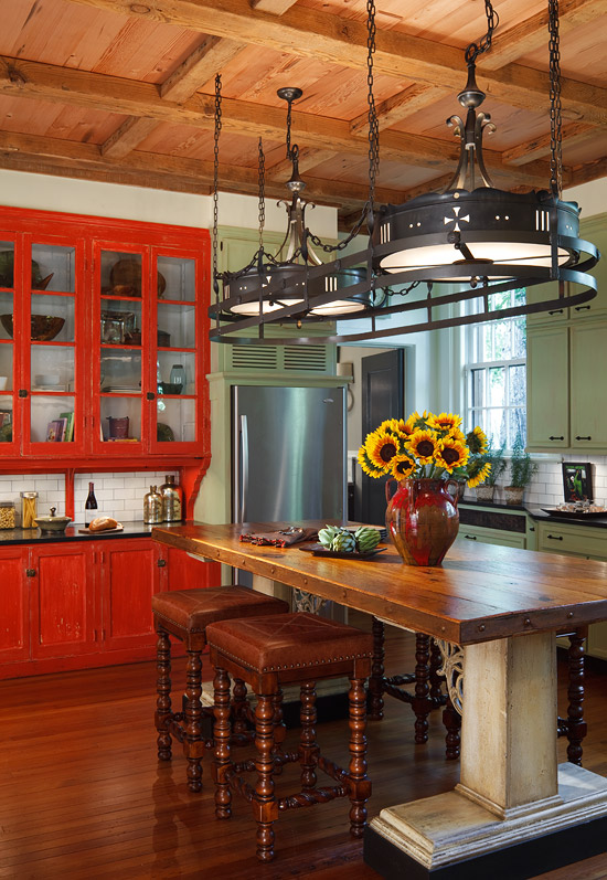 Cheap Coffee Tables 31 Cool And Colorful Kitchens