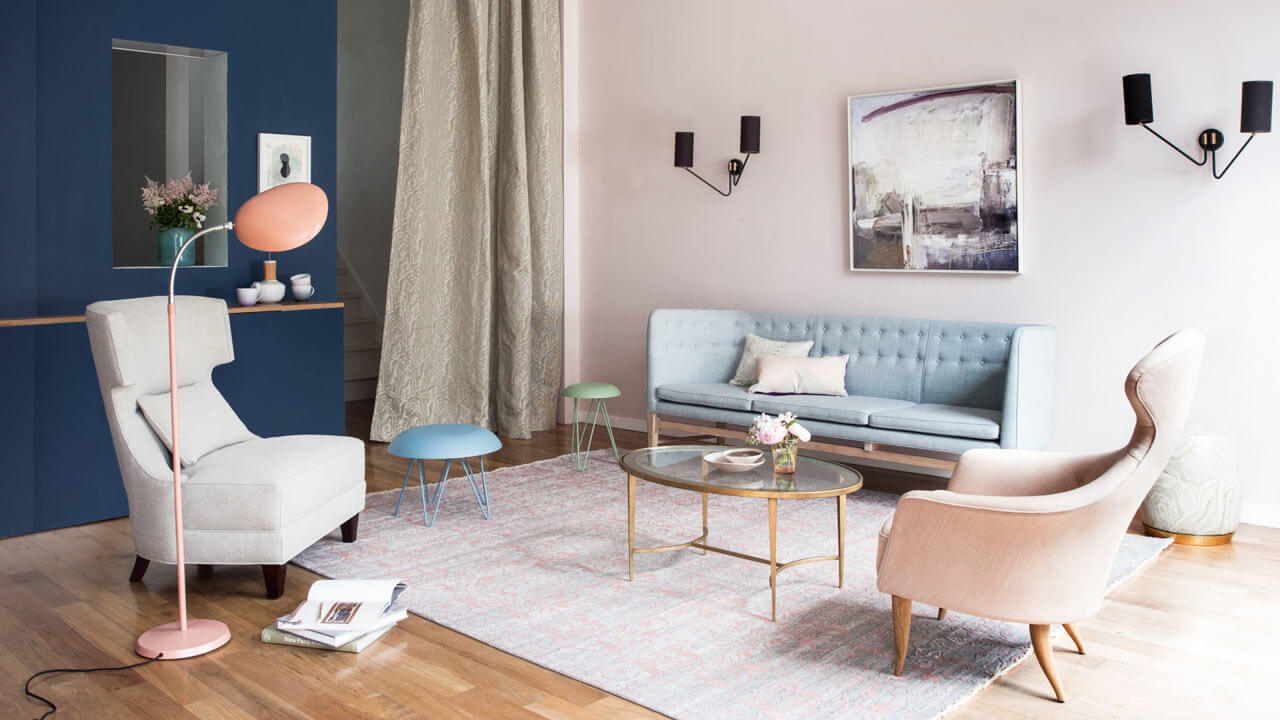 Dekoration Wohnzimmer Altrosa Sophisticated Feminine Interiors For The Modern Woman