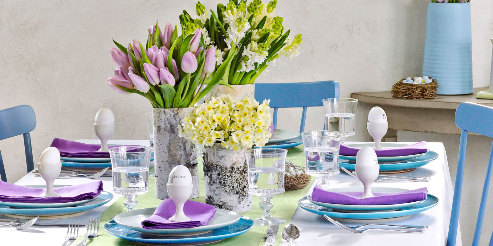 Fresh And Festive Easter Tablescapes