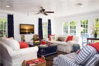 Red, White and Blue Interior Design