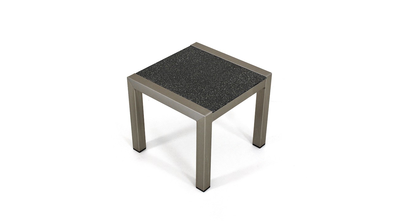 Table Aluminium Jardin Table Basse En Aluminium Verre Granit