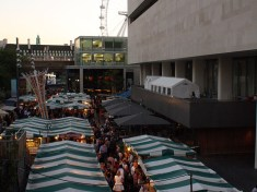 An overview of a market in London. Not the Eye in the background. (Jamie Peacock/2012)