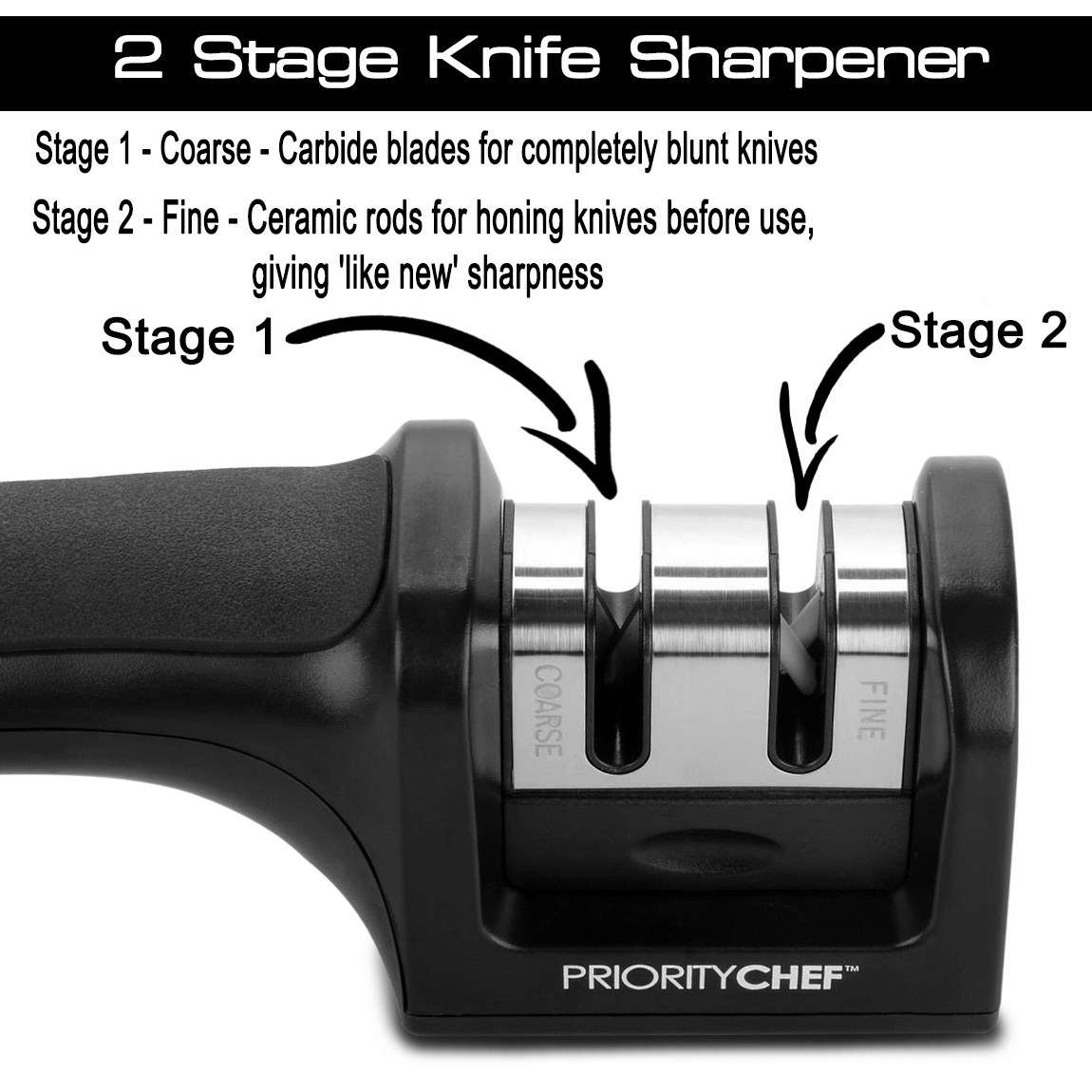 Kitchen Devil Knife Sharpener How To Use Prioritychef Knife Sharpener Review Living A Sunshine Life
