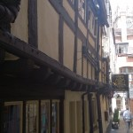 Buildings in Shrewsbury - England