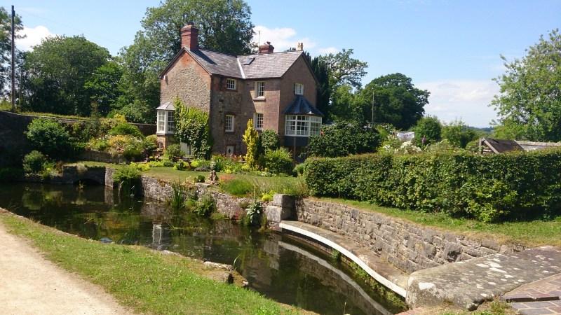 Lock cottage on the Montgomery