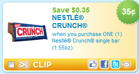 Awesome Nestle Crunch Coupons!