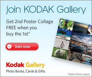 Join Kodak Gallery and Buy 1 Poster Collage and get a 2nd FREE!!!!