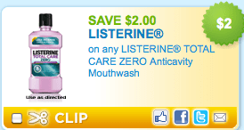 Walmart: Listerine Money Maker!!!