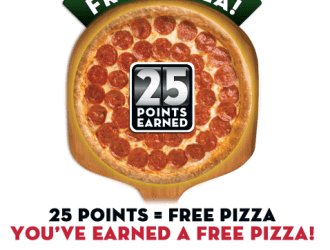 Check your Papa Johns Rewards Account and see if they gave you a FREE pizza!!!