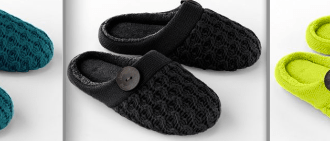 HOT Kohl's online only deal for Dearfoam Slippers!!! RUN!!!