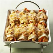 Weekly Meal Plan…Yummy Shredded Chicken Enchiladas, HOT soup and BBQ Pork and Chicken Pot Pie!