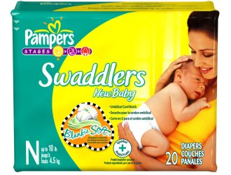HOT Stock Up price for Pampers Swaddler Diapers…just $3.27 a package shipped!!!