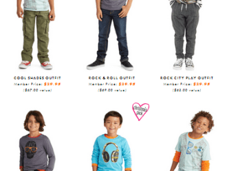 It's HERE!!! FabKids boys line is officially launched!!!